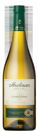 Malesan de France Vin de Pays Chardonnay