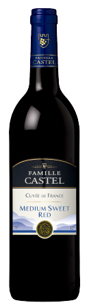 Castel Cuvee de France Rouge Medium Sweet