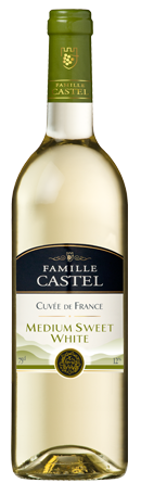 Castel Cuvee de France Blanc Medium Sweet
